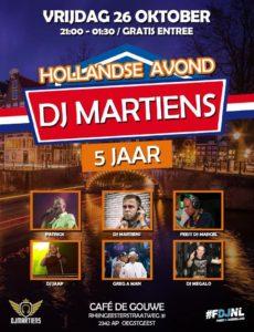 Hollandsfeest georganiseerd door DJ Martinus @ De Gouwe | Oegstgeest | Zuid-Holland | Nederland